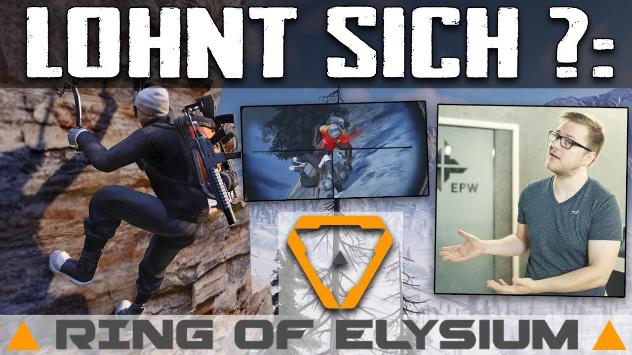 LOHNT SICH: RING OF ELYSIUM ? Battle Royale Test Review Deutsch Steam  EUROPA