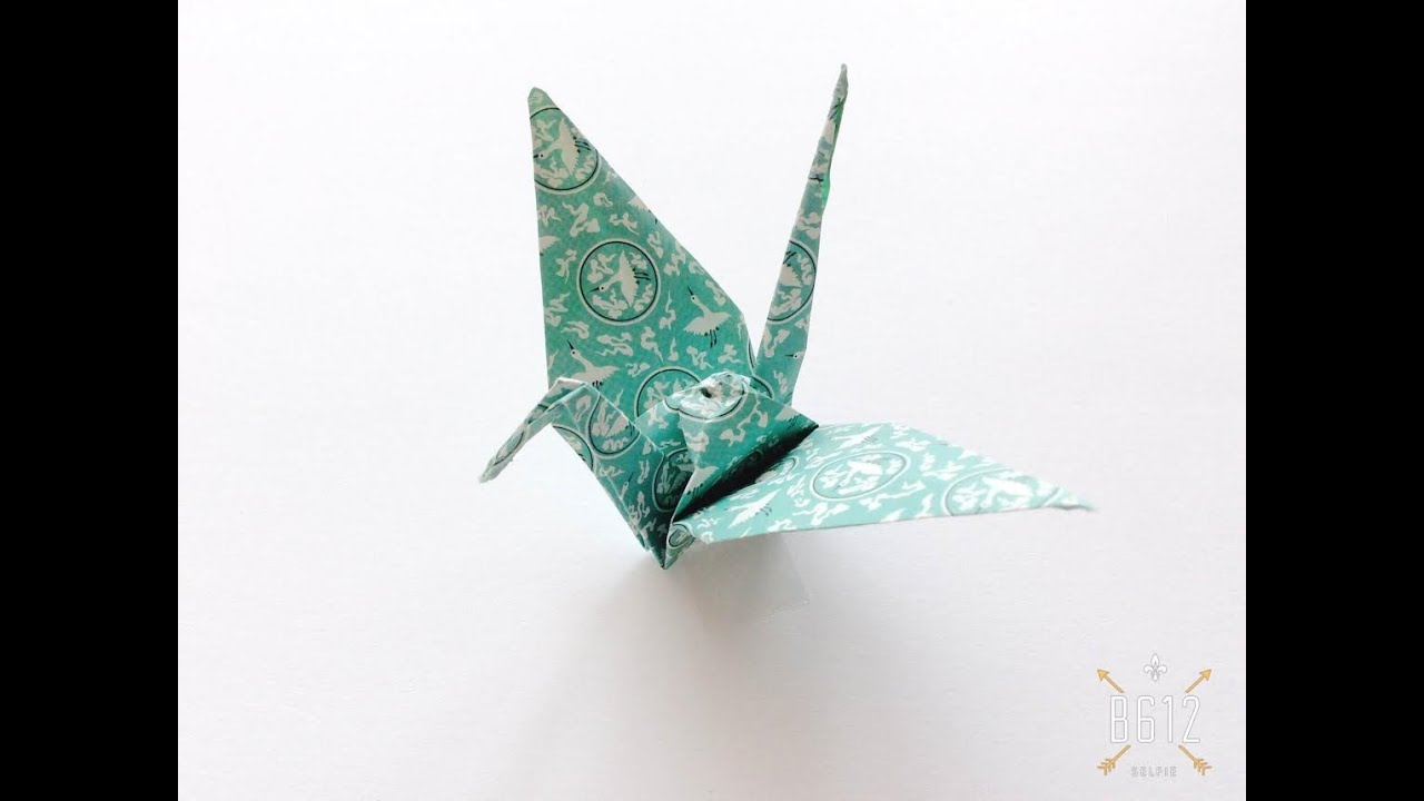Origami Crane for Beginners - YouTube - photo#8