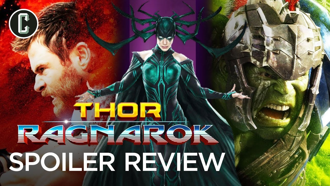 "Thor: Ragnarok Review (Spoilers) ""Is There Too Much Comedy?"""