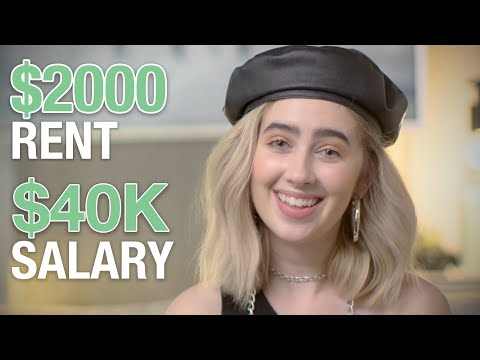 How A 20-Year-Old Stylist Making $40K In Downtown LA Spends Her Money | Money Tours | Glamour