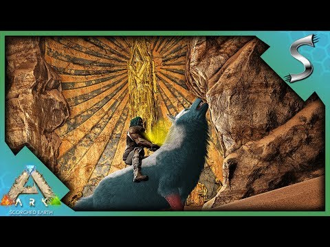 EXPLORING THE OLD TUNNELS CAVE FOR THE GATEKEEPERS ARTIFACT! - Ultimate Ark [E48 - Scorched Earth]