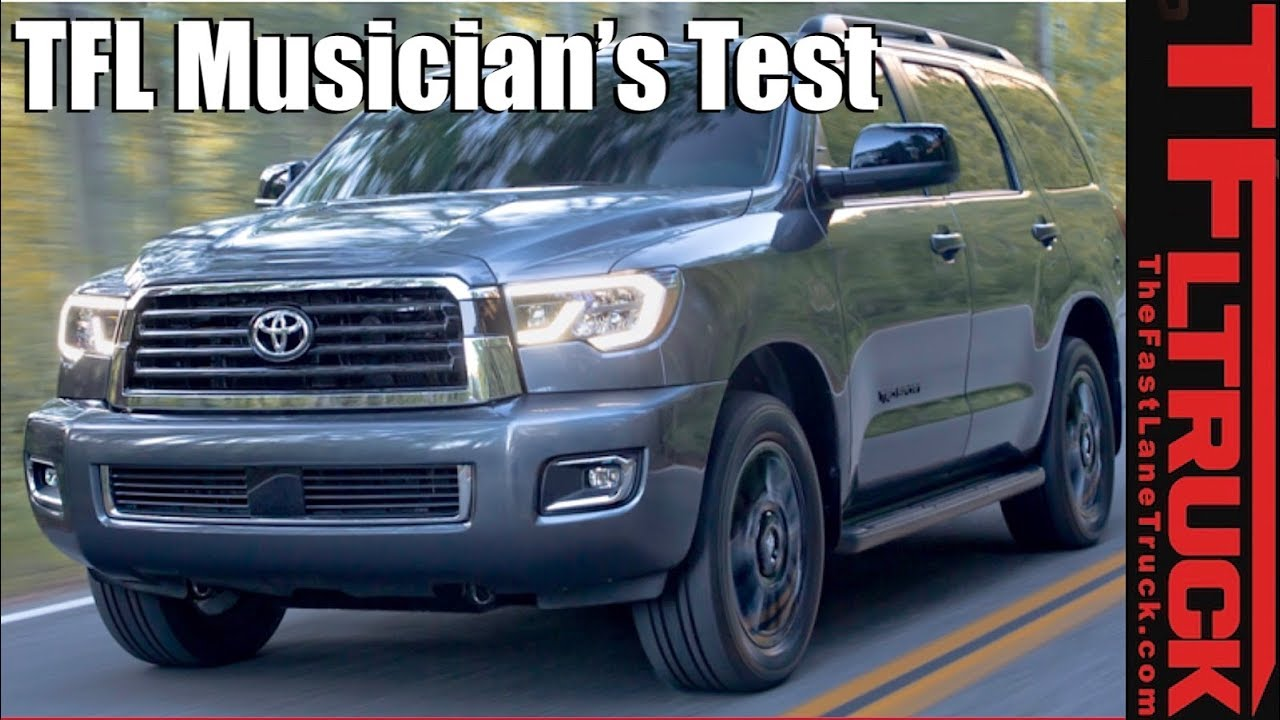 Canucks Trucks What Is The 2018 Toyota Sequoia Best At Will It All Fit