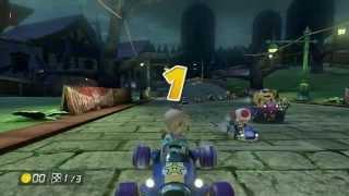 Mario Kart 8: 150cc All Tracks with Rosalina (1P 32 Vs Races - Hard CPU)