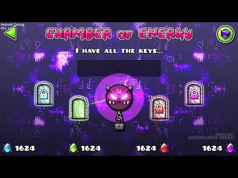 GEOMETRY DASH 2.2 : THE NEW VAULT x THECUBE ( Chamber Of Energy )