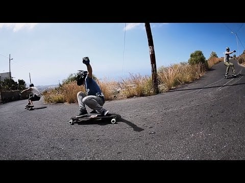High-Speed Downhill Skateboarding Down Volcano | Greener Pastures Offshore, Ep. 1