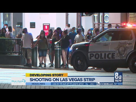 Man critically injured in Las Vegas Strip shooting, suspect arrested in Calif.