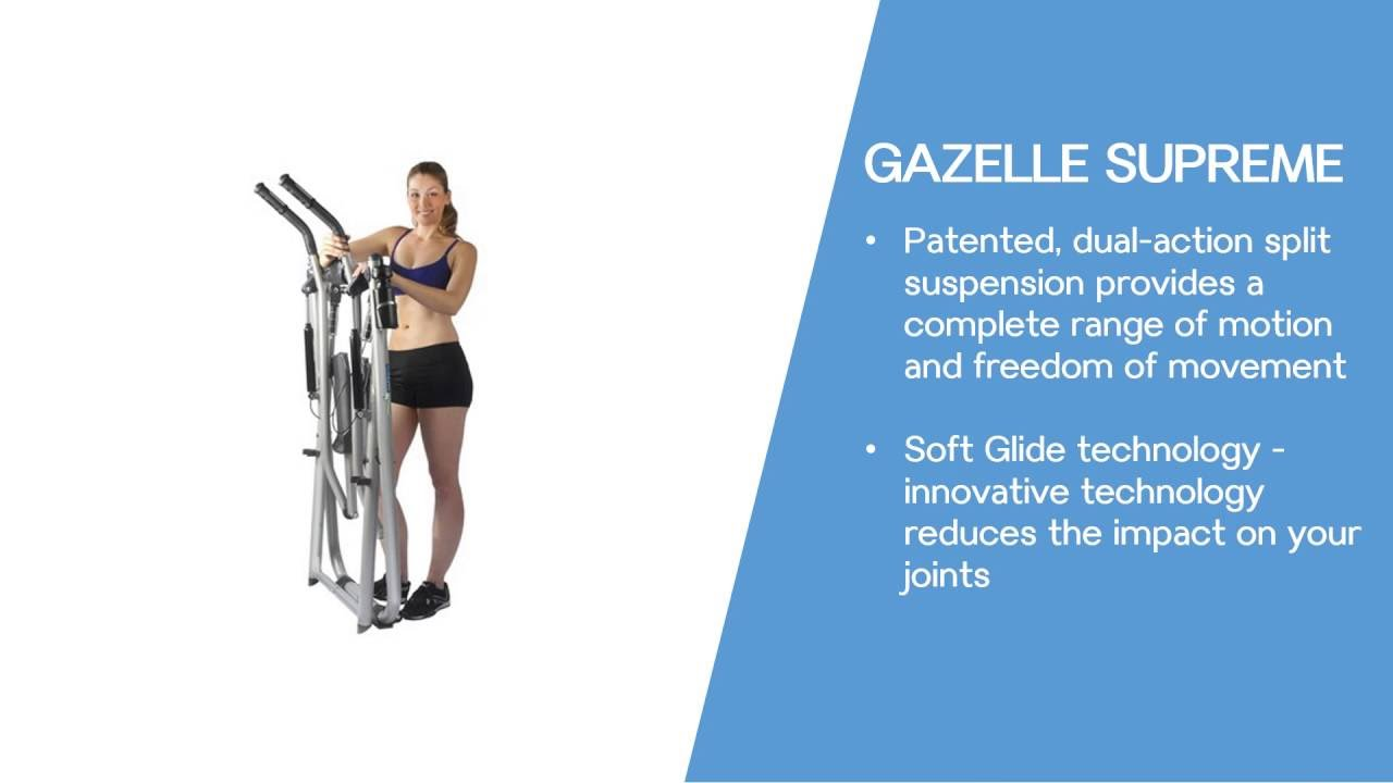 Elliptical Machine Reviews >> Gazelle Exercise Elliptical Machine Reviews Tony Little Edge Freestyle - YouTube