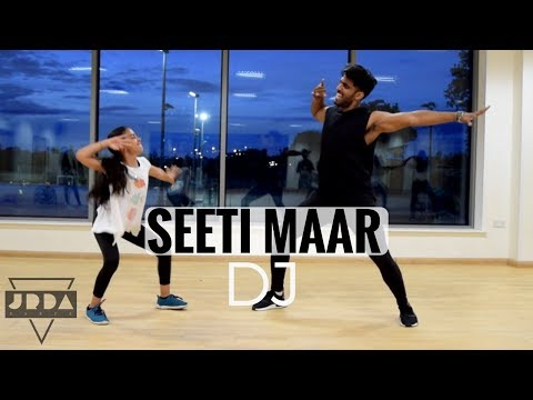 Seeti Maar Song | DJ DANCE  | Allu Arjun | Pooja Hegde | DSP | @JeyaRaveendran choreography