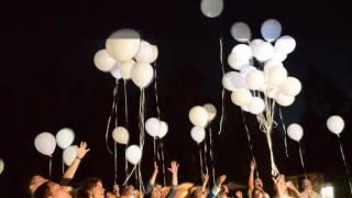 Запуск светодиодных шаров (белые)
