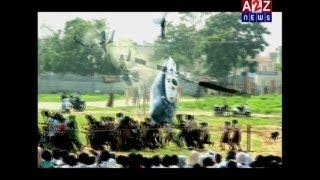 Original video footage of Sant Shri Asaram Bapu ji Helicopter crash