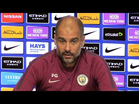 Pep Guardiola Full Pre-Match Press Conference - Manchester City v Stoke - Premier League