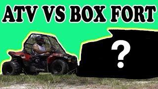 ATV VS BOX FORT CHALLENGE