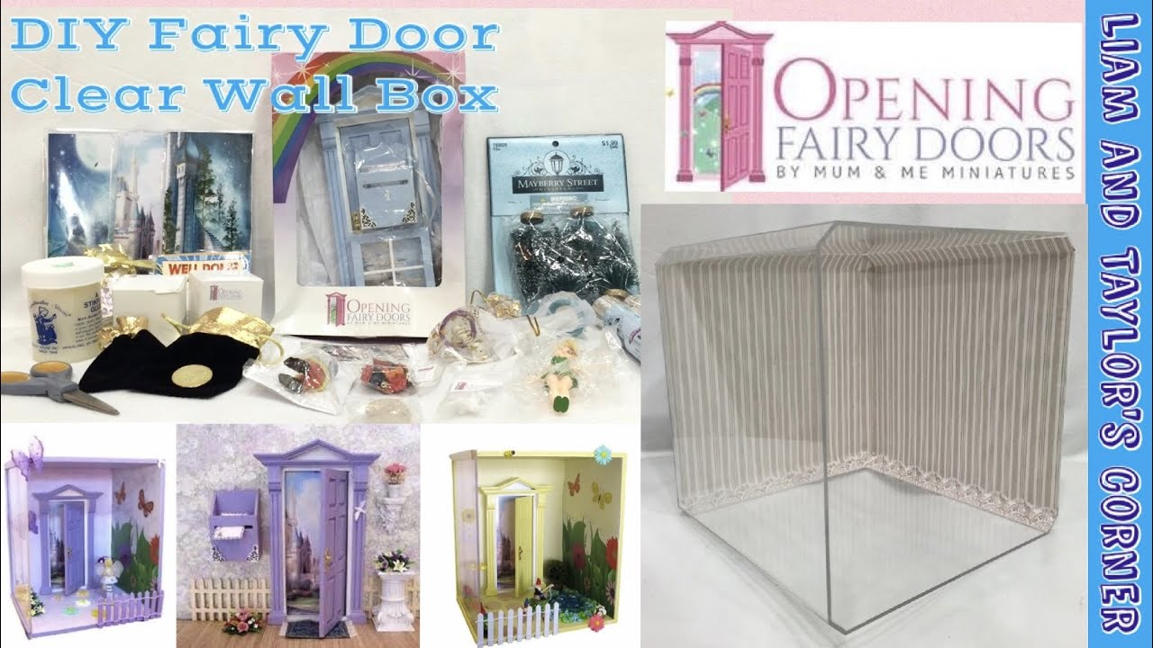 Diy Wall Box For Your Opening Fairy Door Liam And Taylor