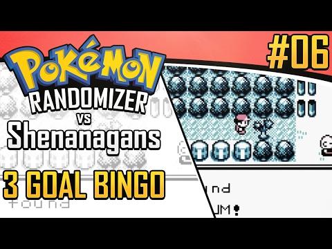 Pokemon Randomizer 3 Goal Bingo vs Shenanagans #6