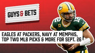 Guys & Bets: Thursday Night Football, Navy at Memphis, NHL Futures & Top 2 MLB Bets!
