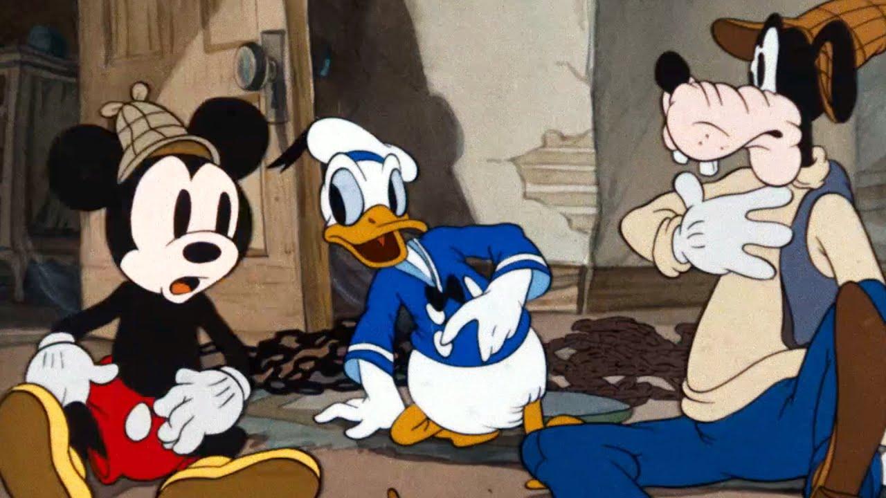 Lonesome Ghosts A Classic Mickey Cartoon Have A Laugh Youtube