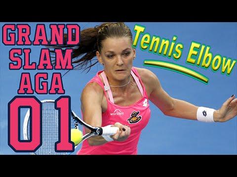 Grand Slam Aga Ep. 1  Tennis Elbow 2013 Career Let's Play as Agnieszka Radwanska