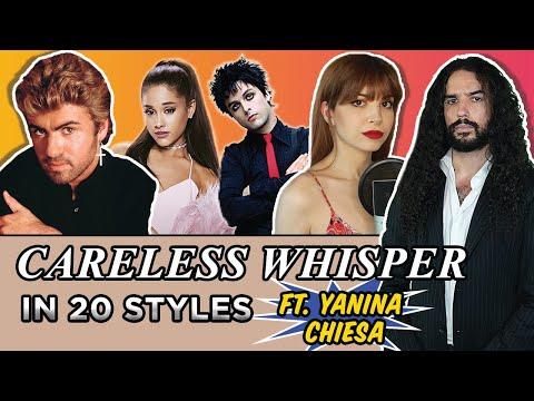 George Michael - Careless Whisper in 20 Styles (Feat. Yanina Chiesa)