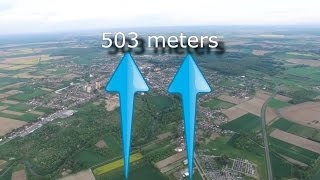 DJI Phantom 4 maximum altitude reach (503m) and lose signal