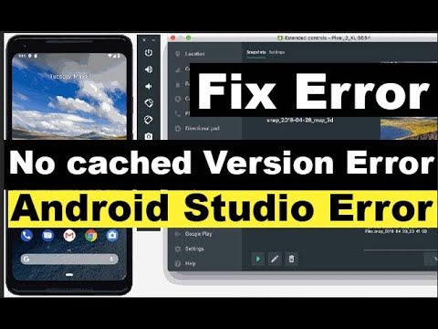 No Cached Version Of Com.android.tools.build:gradle:3.6.3 Available For Offline Mode. Android Studio