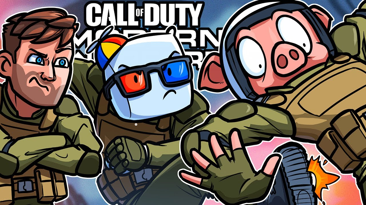 WE'RE KICKING WILDCAT FROM THE GROUP! (Call of Duty: Modern Warfare)
