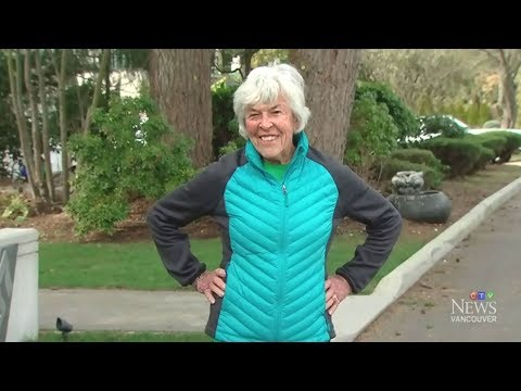 90-year-old marathon runner breaking world records
