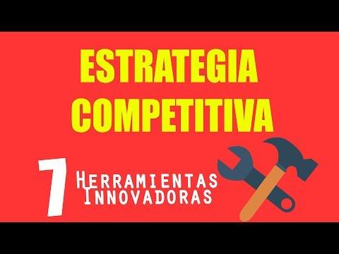 Estrategia Competitiva: Innovación con 7 herramientas y diferenciadores