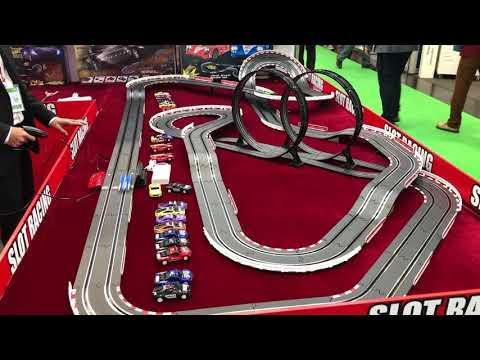 Joysway Slot Racing Slotcar Bahn auf Spielwarenmesse 2020