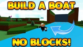 ¡ESTE GLITCH NO TOMA BLOQUEOS! Construir un barco para el tesoro ROBLOX