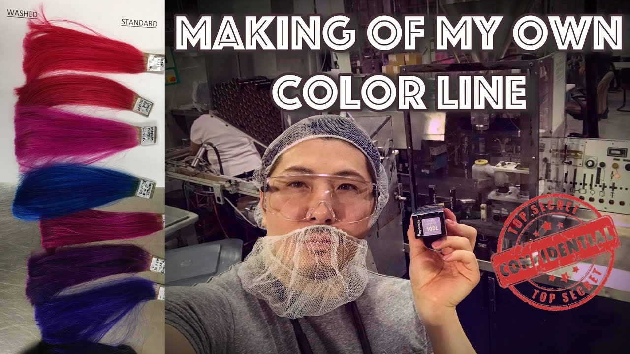 The SECRETS behind the making of my own COLOR LINE
