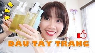 [Mỹ Phẩm Nhật Bản] 5 LOẠI DẦU TẨY TRANG ĐÁNG MUA!! | Review Cleansing oil