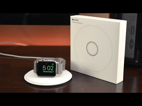 Apple Watch Magnetic Charging Dock: Unboxing & Review