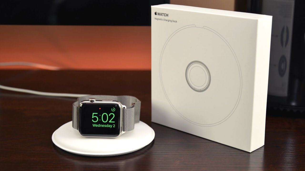 The Official Apple Watch Charging Dock Is Finally Here