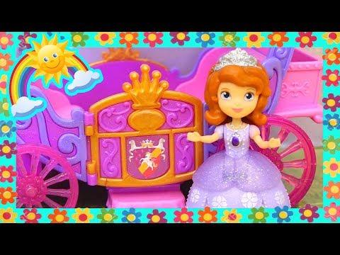 Princesa Sofia Brincando com os Ursinhos Carinhosos -Brinquedonovelinhas com bonecas