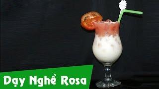 Pha chế yaourt cà chua