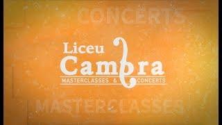 Cicle Liceu Cambra 2018