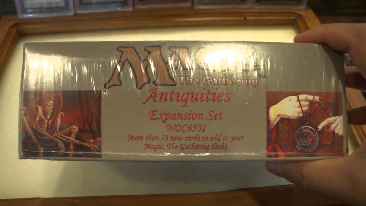 Antiquities Factory Sealed Booster Box