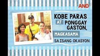 Kobe Paras at Ponggay Gaston, magkasama sa isang okasyon
