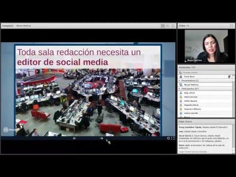 Editor de redes sociales y tráfico en la web Marjulis Matheus