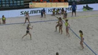 Пляжний гандбол. ЧЄ U17. Україна - Швейцарія