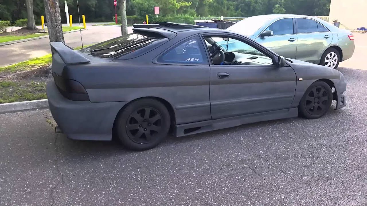 Paint And Body Kit YouTube - Body kits for acura integra