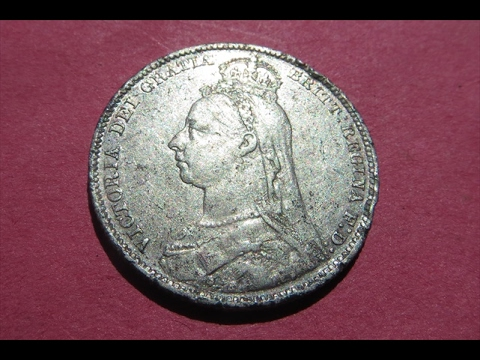 1800's British Silver Coin !!!!!