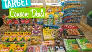 Target Coupon Shopping Video Using Printable Coupons