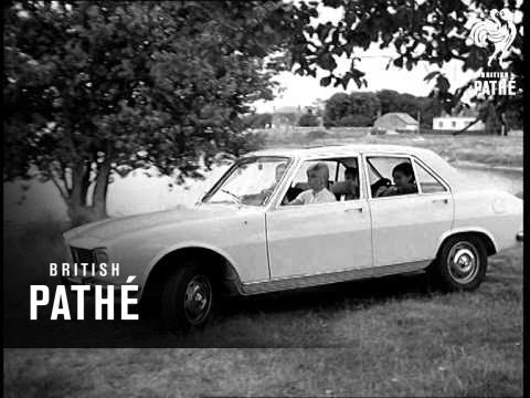 New French Peugeot 504 1968 Youtube