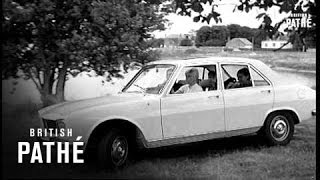 New French Peugeot 504  (1968)