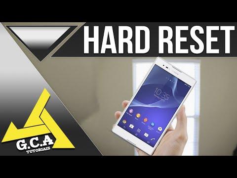 Como Fazer Hard Reset No Sony Xperia T2 Ultra Dual - D5322 (Desbloqueando seu Android)  2016/2017