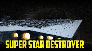 """X3 Albion Prelude """"Star Wars Mod"""" - Super Star Destroyer"""