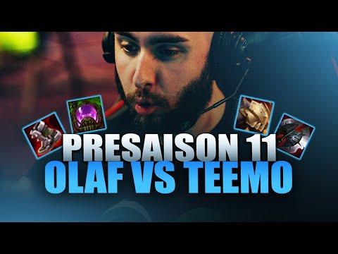 Vidéo d'Alderiate : ALDERIATE - OLAF VS TEEMO -  PRESAISON 11 - C'EST CRINGE LES RANGE TOP PHASE RUSH