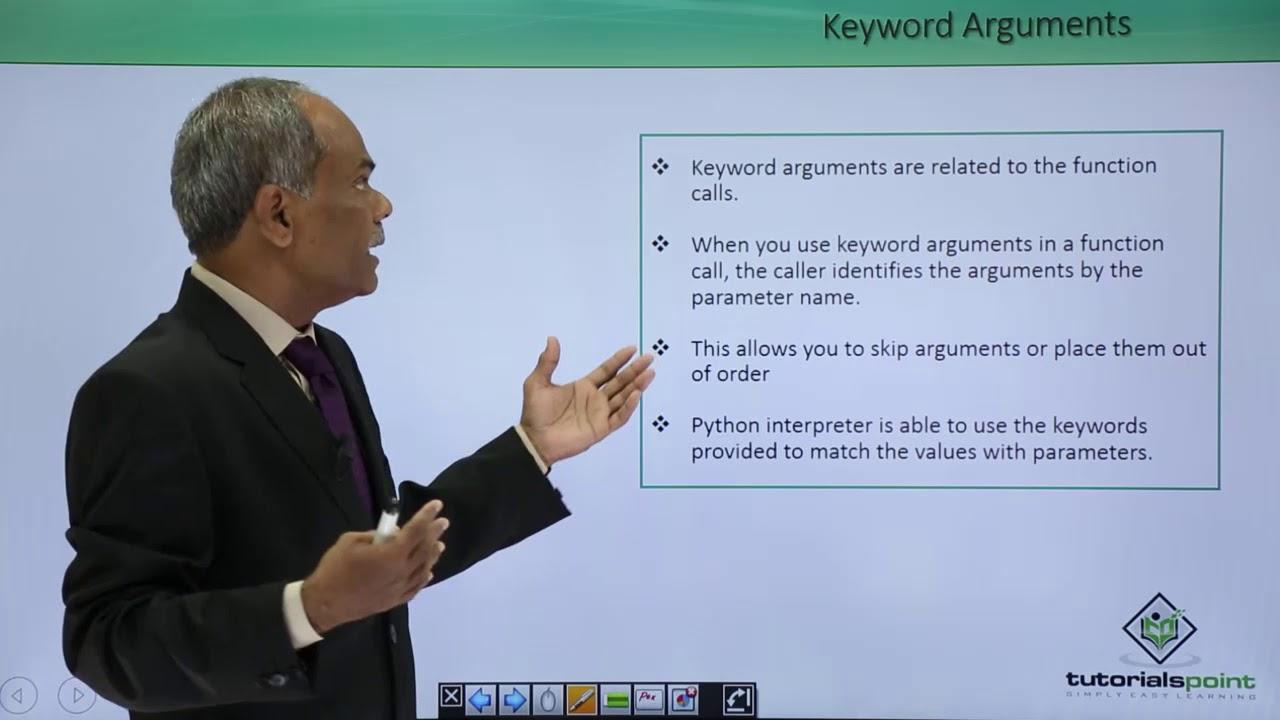 Python - Keyword Arguments