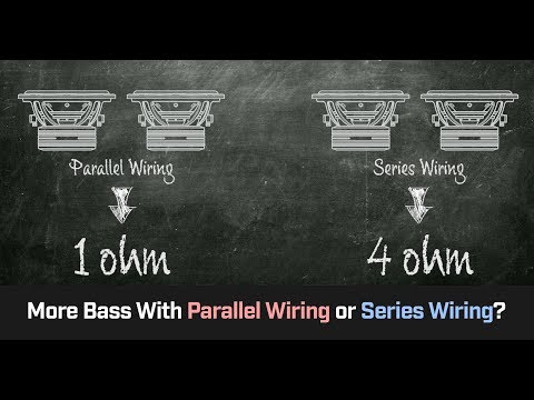 Parallel Wiring Vs Series Wiring - More Bass?  Cahh Audio 101